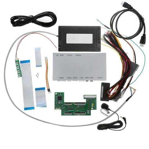 Комплект для встановлення функції СarPlay в Toyota Camry з системою Fujitsuten Denso Ten