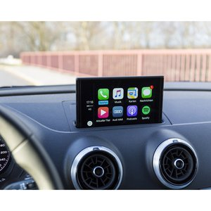 "Android Auto and CarPlay Adapter for Audi Q3 of 2013 2018 MY with 5.8"" Monitor"