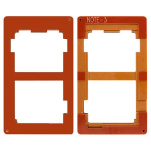 LCD Module Mould for Samsung N900 Note 3, N9000 Note 3, N9005 Note 3, N9006 Note 3 Cell Phones, (for glass gluing )