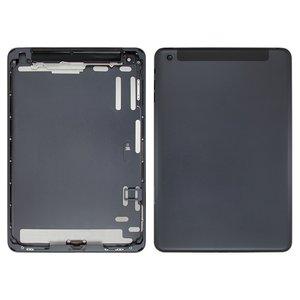 Back Cover for Apple iPad Mini Tablet, (black, version 3G )