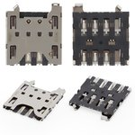SIM Card Connector compatible with Blackberry Q10, Z10