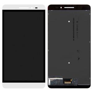 LCD Lenovo Phab Plus PB1-770M LTE, (white, with touchscreen)
