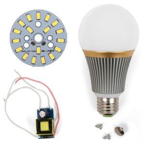 LED Light Bulb DIY Kit SQ-Q23 9 W (cold white, E27), Dimmable