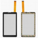 "Touchscreen China-Tablet PC 7""; Irbis TZ63; Supra M72GG, (7"", 183 mm, 104 mm, 30 pin, capacitive, black) #YJ321FPC-V0/FX-175-V1.0"