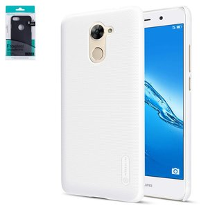 Case Nillkin Super Frosted Shield compatible with Huawei Enjoy 7 Plus, (white, matt, plastic) #6902048142008