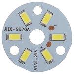 Placa PCB con diodos LED de 3 W (luz blanca fría, 350 lm, 32 mm)
