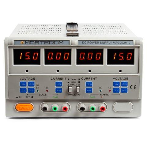 Регульований блок живлення Masteram MR3003M 2