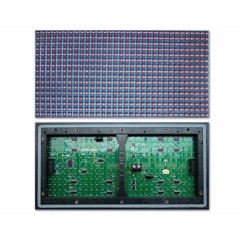 LED модуль для реклами P10 1W 320 × 160 мм, 32 × 16 точок, IP65, 6500 нт