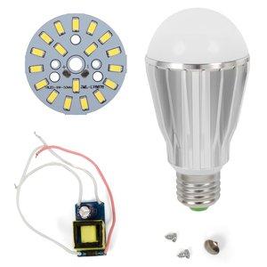 Комплект для сборки светодиодной лампы SQ-Q17 9 Вт (холодный белый, E27)