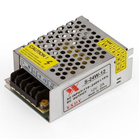 Блок живлення для світлодіодних стрічок 12 В 2 A 24 Вт
