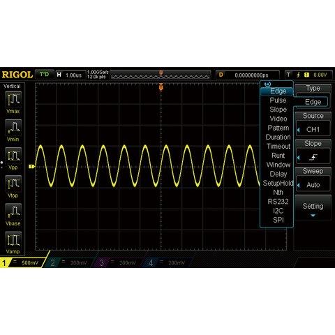 Опція розширеного запуску RIGOL AT DS1000Z