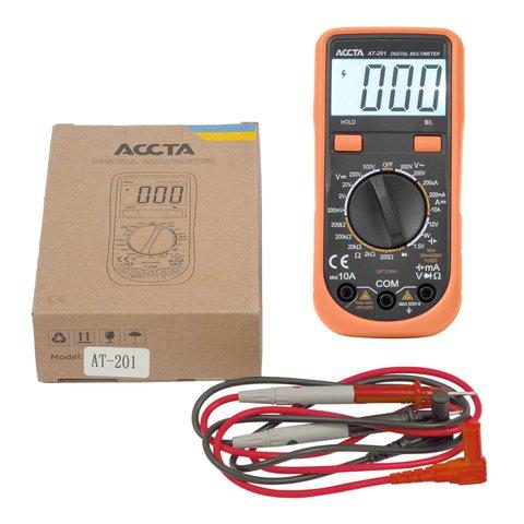 Цифровий мультиметр Accta AT 201