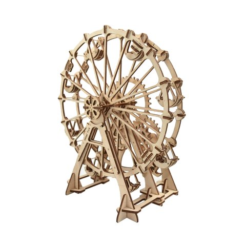 Mechanical 3D Puzzle Wood Trick Ferris Wheel - /*Photo|product*/